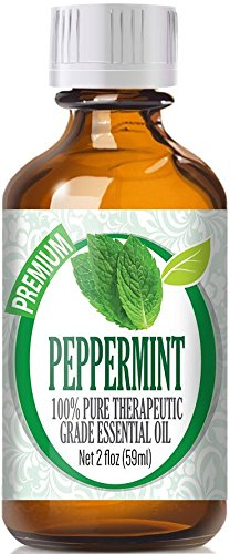 Peppermint (60ml) 100% Pure, Best Therapeutic Grade Essential Oil - 60ml / 2 (oz) Ounces