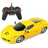 YXLONG Large Charging Remote Control Car Children's Toy Car Remote Control Car Toy Boys Drift Racing Sports Car,LawYellow