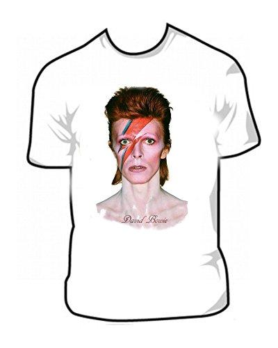 [Tribute To David Bowie and Major Tom Punk Rock Era t shirt Sizes Sm - 3XL] (70s Era Clothing)