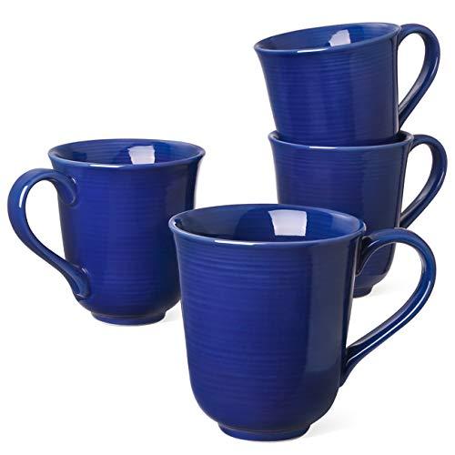 - Le Tauci 4 Piece Latte Cups Coffee Cup, 10 Ounce Blue