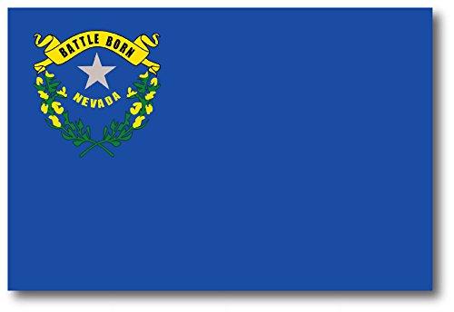 Nevada Car Magnet US State Flag Refrigerator Locker SUV Heavy Duty Waterproof