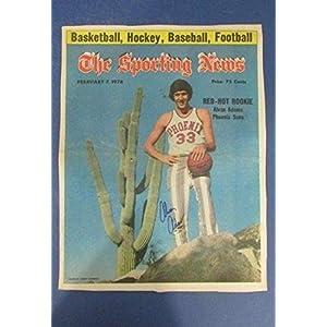 Alvan Adams Phoenix Suns Signed Feb. 7, 1976 Sporting News Cover 126553