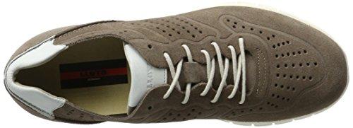 Lloyd Herren Aldo Sneaker Beige (taupe / Bianco)