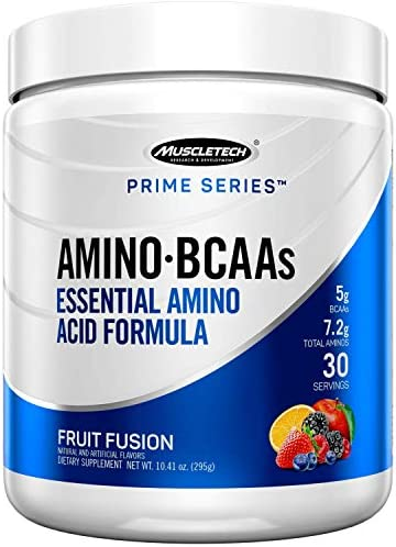 Muscletech Prime Series Bcaa Eaa Amino Energy Powder