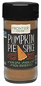 Frontier Pumpkin Pie Spice Salt-Free Blend, 1.92-Ounce Bottle