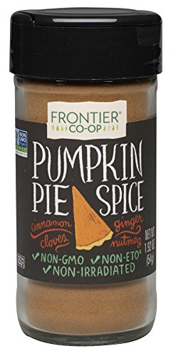 Frontier Pumpkin Pie Spice Salt-Free Blend, 1.92-Ounce Bottles (Pack of 3)