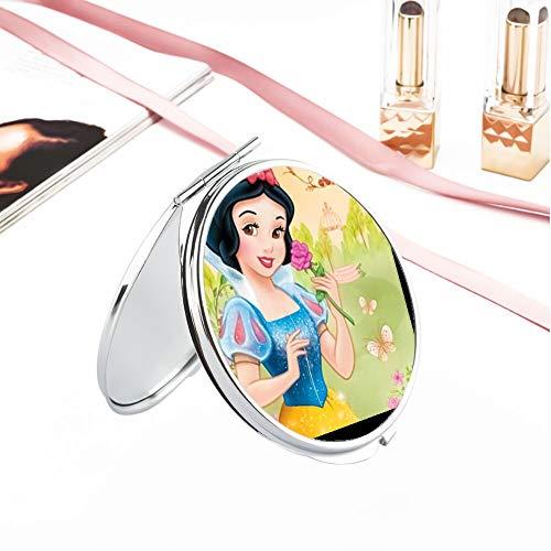 DISNEY COLLECTION Makeup Mirror for Women Girls Beautiful Snow White Pattern Design -