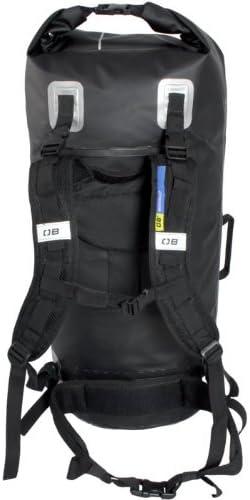 Overboard Waterproof Window Tube Backpack, Black, 60-Liter