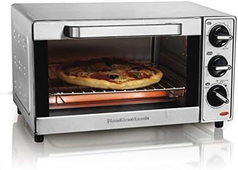 Hamilton Beach 31401 Stainless Steel 4 Slice Toaster Oven Broiler