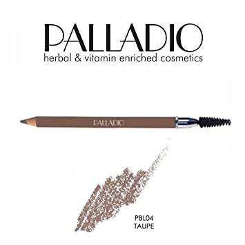 3 Pack Palladio Beauty Eyebrow Pencil 04 Taupe