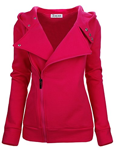 TAM WARE Women Slim fit Zip-up Hoodie Jacket -