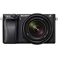 "Sony Alpha a6300 Mirrorless Camera Interchangeable Lens Digital Camera APS-C, Auto Focus & 4K Video - ILCE 6300M Body 3"" LCD Screen & 18-135mm Zoom Lens - E Mount Compatible - Black"