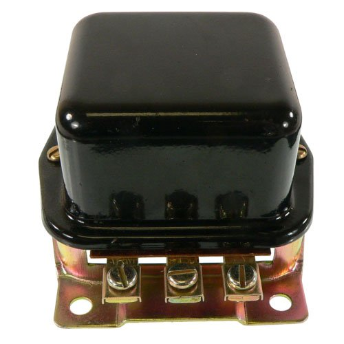 DB Electrical GFD6001 7 Volt Regulator For Ford Tractor Two Unit /B Circuit/Positive Ground/501 600 601 701 800 1800 2000 2030 2120 2130 4000 4cyl/4030 4040 4120/ FAG10505A, GR277 (Positive Ground)