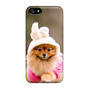 New Style STWanke Cute Doggy Premium Tpu Cover Case For Iphone 5/5s