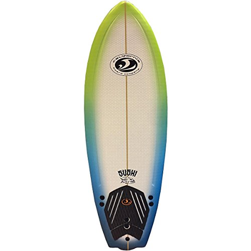 California Board Company CBC Surfboard, 5-Feet x 8-Inch, Assorted (Best Type Of Surfboard For Beginners)