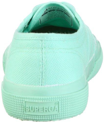 Superga 2750- COTU CLASSIC S000010 - Zapatillas para mujer, color turquesa, talla 36