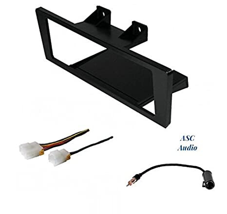 premium car stereo install dash kit, wire harness, and antenna adapter to  install an