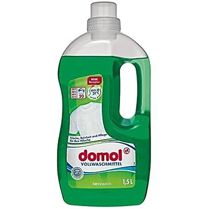 domol domol Detergente, 20 WL 1,5 L los Restos, pureza ...