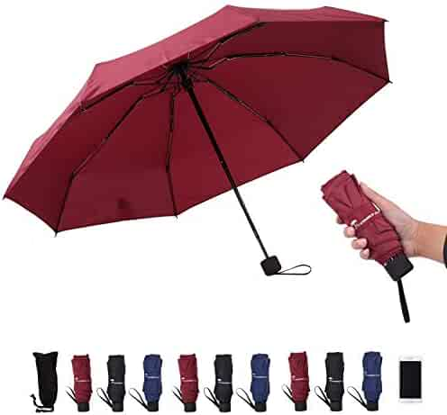6cfb4d02c441 Shopping Reds - Auto Open & Close - 1 Star & Up - Umbrellas ...