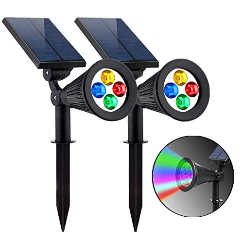 Multi Colored Solar Yard Lights