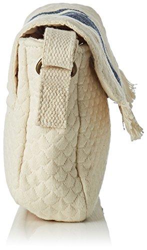 Bolso Pequeño Mujer Roxy Marshmallow Island de ERJBP03669 Resort para Mano Solid Blanco ECUCq6