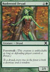 Magic: the Gathering - Rushwood Dryad (294/383) - Tenth Edition