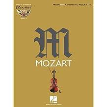 Mozart: Violin Concerto in G Major, K216: Classical Play-Along Volume 15