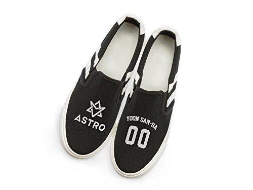 Fanstown Astro Kpop Sneakers Skor Fanshion Konvergensnivån Hiphop Stil Fläkt Stöd Med Lomo Kort Yoon San-ha