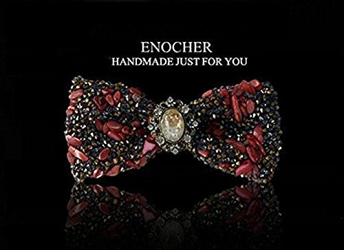 Color Stone Rhinestone Inlaid Gem Bow Tie,Men BowTie,Self Tie Bow Tie,BowTie For Men,Gentleman,Business,Wedding,Gift,Fashion,High-end,Luxury
