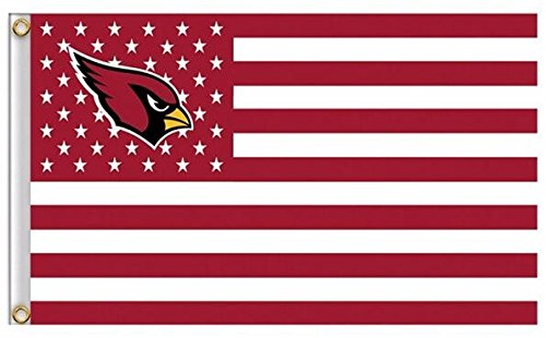 s Stars and Stripes Flag Banner - 3X5 FT - USA FLAG (Arizona Cardinals Banner Flag)