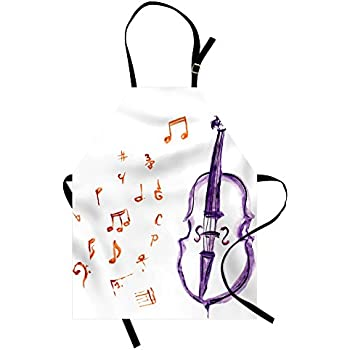 Festive Guitar Instrument Ambesonne Music Gym Bag Large Weekender Carry-on