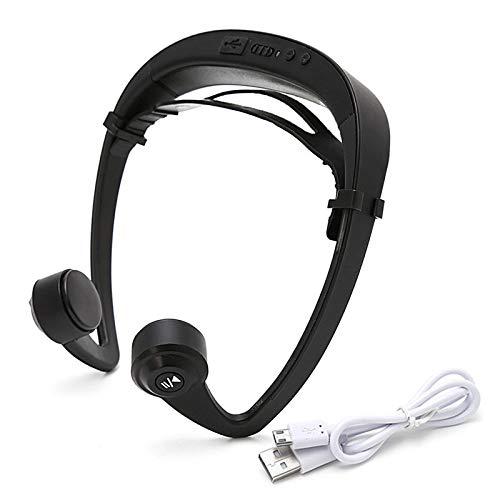 V9 Ear Hook Bone Conduction Bluetooth 4.2 Sports Headphone Headset with Mic Adjustable Headband for Android iOS Smartphon