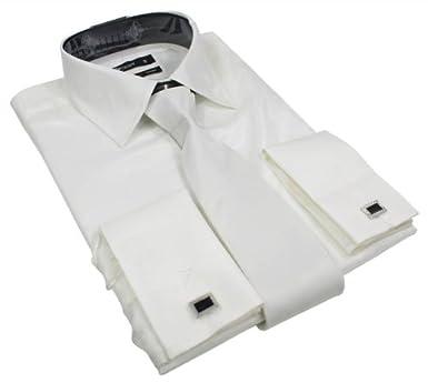 jolie et colorée Conception innovante large choix de couleurs Chemise homme design italien blanc style satin soie double ...