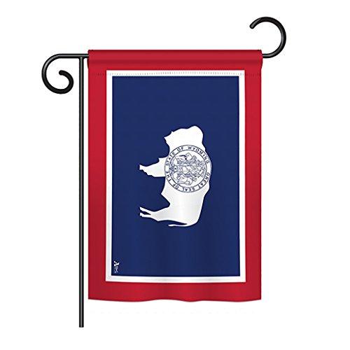 (Americana Home & Garden G142551-BO Wyoming States Impressions Decorative Vertical 13
