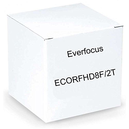 Everfocus ECORFHD8F/2T 1080P Full Had Digital Video Recorder, Multiple Monitor