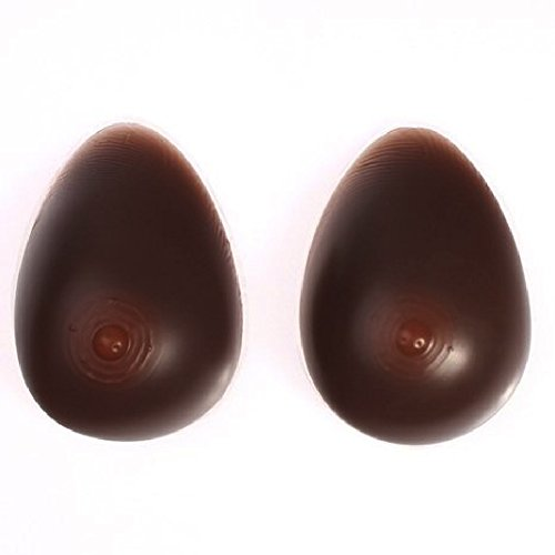 Envy Milk Chocolate Brown Silicone Breast Forms,Mastectom...