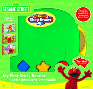 My First Story Reader with 3-Book Sesame Street Library: ...