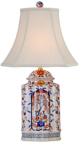 East Enterprises LPBKL0810AL Imari Vase Lamp - Multicolored -