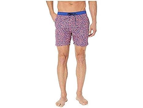 f9b3157c62 Scotch & Soda Men's Classic Swim Shorts with Summer All Over Print Combo ...