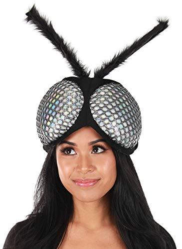 elope Holographic Fly Eyes Plush Headband -
