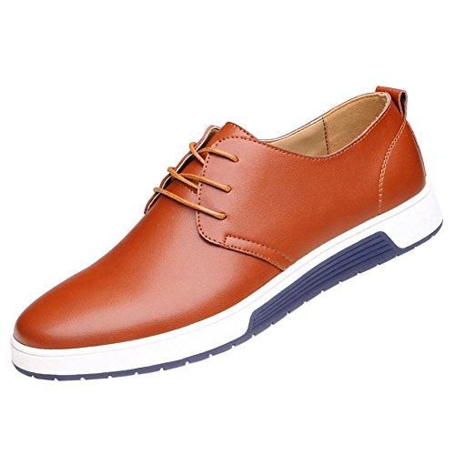 QCO Men's Classic Casual Oxford Flats Sneakers...