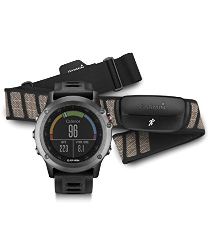 Garmin fnix 3 GPS Watch Gray/Black 010-01338-10