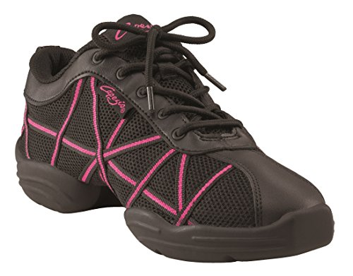 Patent Web Women's Black Dance Capezio Trainer vpXPn8