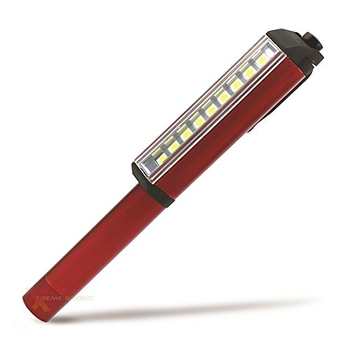 Batteries Included Magnetic! Ultra Bright 160 Lumen LED Pocket Pen Work Light