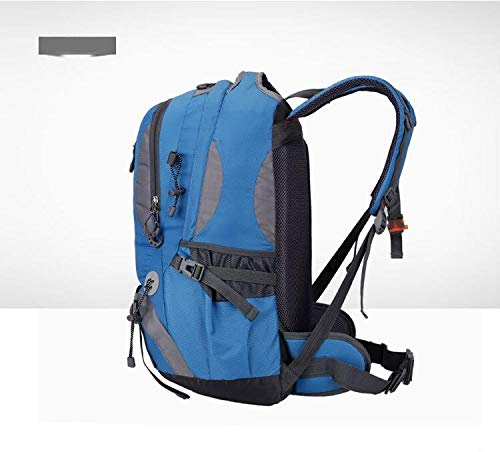 Hiking Male Sports Riding Capacity 50l Waterproof Grossartig Blue Female Bag Mountaineering Large Backpack Travel New Camping Outdoor 4PPwxBqZ