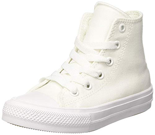 - Converse Chuck Taylor All Star Ii Hi Casual Kid's Shoes Size 12 White