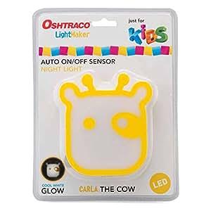Oshtraco Cow Shape LED Sensored Light for Kids - OLED-CNL1-COW