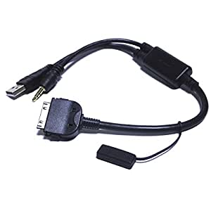 for aux cable for bmw usb klinke adapter i. Black Bedroom Furniture Sets. Home Design Ideas
