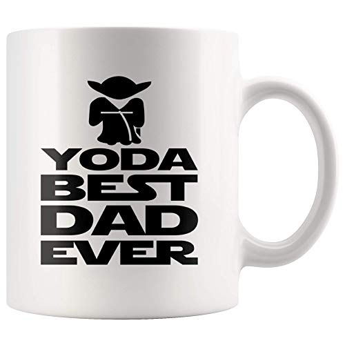 Yoda Best Dad Ever Gift Mug, You're The Best Father's Day Gift 11oz Cup