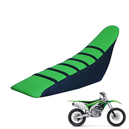 Universal Gripper Rubber Soft Motorcycle Seat Cover - KX65 KX85 KX450F KX250 honda Yamaha Kawasaki Suzuki Husqvarna Pit Dirt Bikes ()
